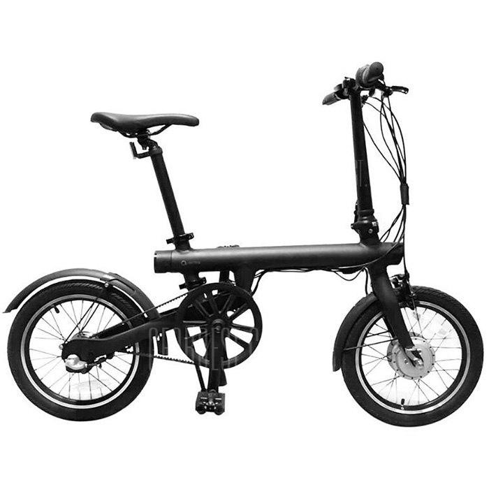 QICYCLE TDR01Z Folding Moped Electric Bike E-bike from Xiaomi Youpin - BLACK