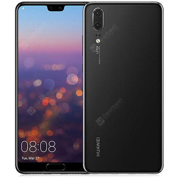 HUAWEI P20 4G Phablet Global Version - BLACK  4+128GO