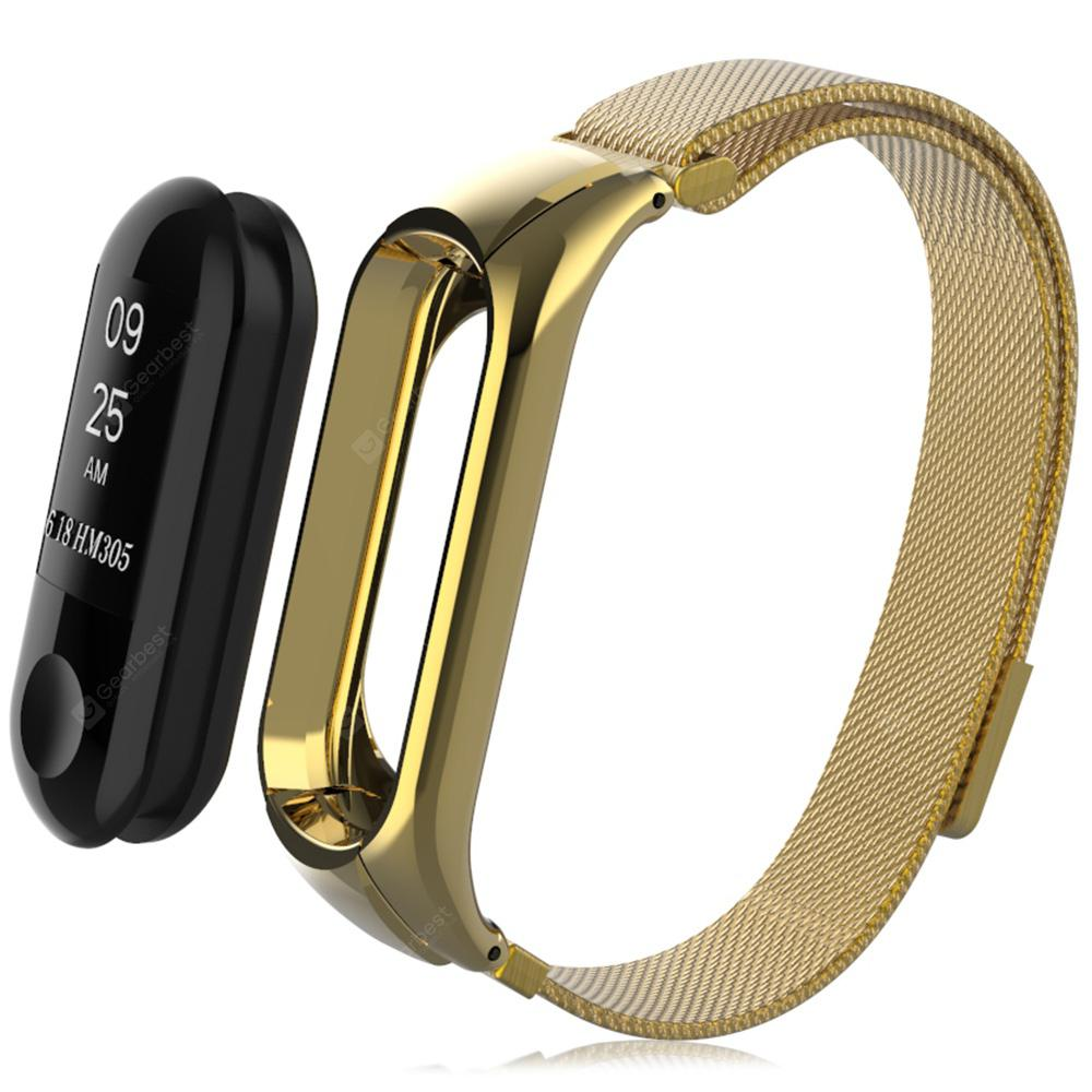 Watch Strap Stencil Mesh Watchband for Xiaomi Mi Band 3