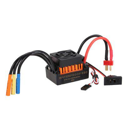 60A Brushless ESC for 1/10 RC Car waterproof 60a esc f540 10t 3930kv brushless motor fits for 1 10 drift rc car racing bm88
