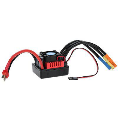 S - 120A Brushless ESC for 1/8 RC Car waterproof 60a esc f540 10t 3930kv brushless motor fits for 1 10 drift rc car racing bm88