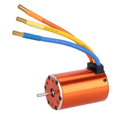 550 4300KV Brushless Motor for 1/10 RC Car leopard hobby lbp4082 lbp4282 brushless inrunner 4082 4282 2000kv 1600kv 4 pole motor for rc car boat