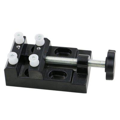 Durable Aluminum Alloy Mini Bench Vise 16mm bore 100mm stroke aluminum alloy pneumatic mini air cylinder mal16x100 free shipping