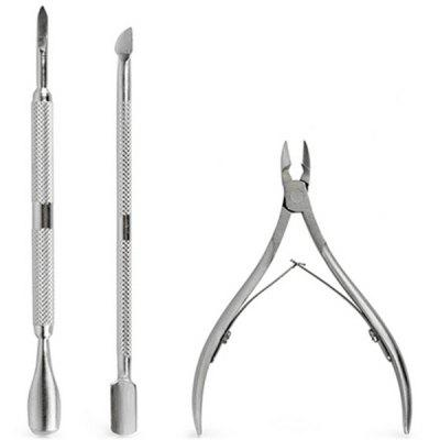 Manicure Cuticle Pusher Remover Kit