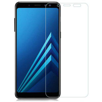 Naxtop 2.5D Tempered Glass Screen Protector for Samsung Galaxy A8 Plus ( 2018 ) 2pcs