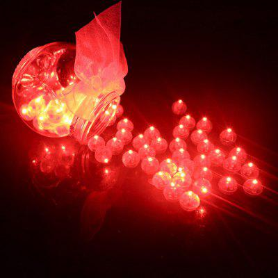 Kleine Ball Light LED Ballonlampe 50Stk