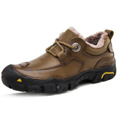 Men Outdoor Winter Casual Leather Shoes