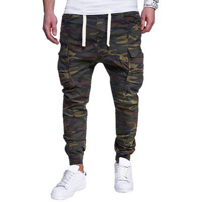 Fashion Casual Camouflage Pattern Pants for Men