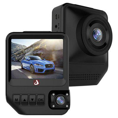junsun Q2 2.31 inch Dual Lens Car DVR Camera 1080P Dashcam  Image