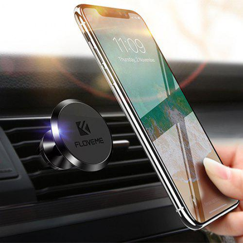 Universal Car Wind Cell Phone Holder Box Accessories Storage Box Multifunction