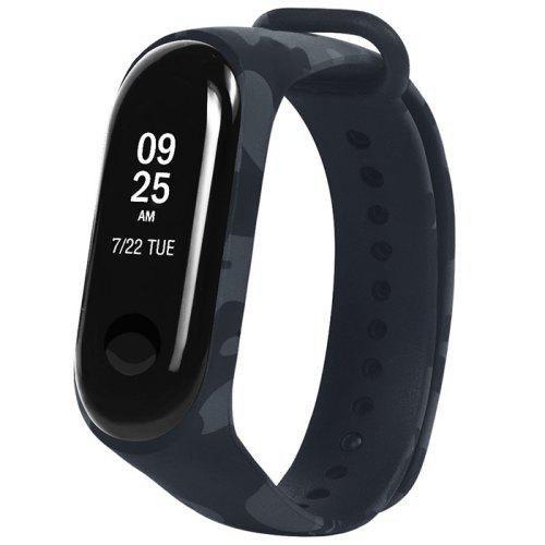 Replacement Strap Camouflage  Wristband Silicone Watchband For Xiaomi Mi Band 3
