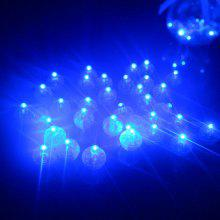 Small Ball Light LED Balloon Lamp 100pcs