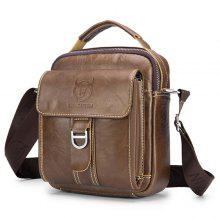 BULLCAPTAIN Men Stylish Leather Shoulder Bag