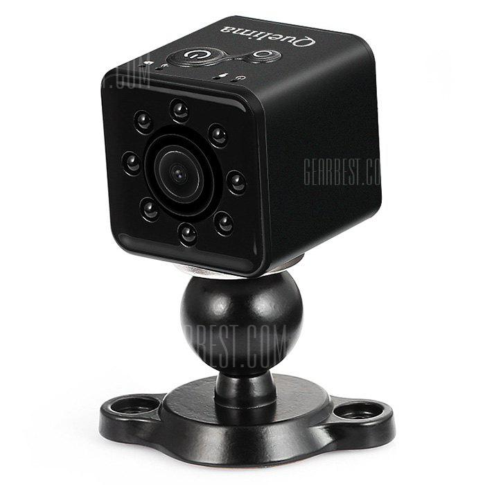 Quelima SQ13 Mini HD 1080P Car DVR DV Camera - BLACK