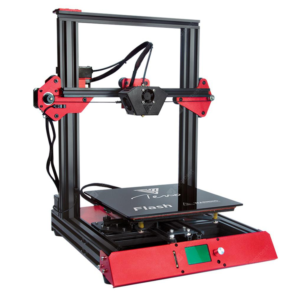 Tevo Flash Standard DIY Kits 98% Prebuild 3D Printer - BLACK 220V HOTBED / EU PLUG