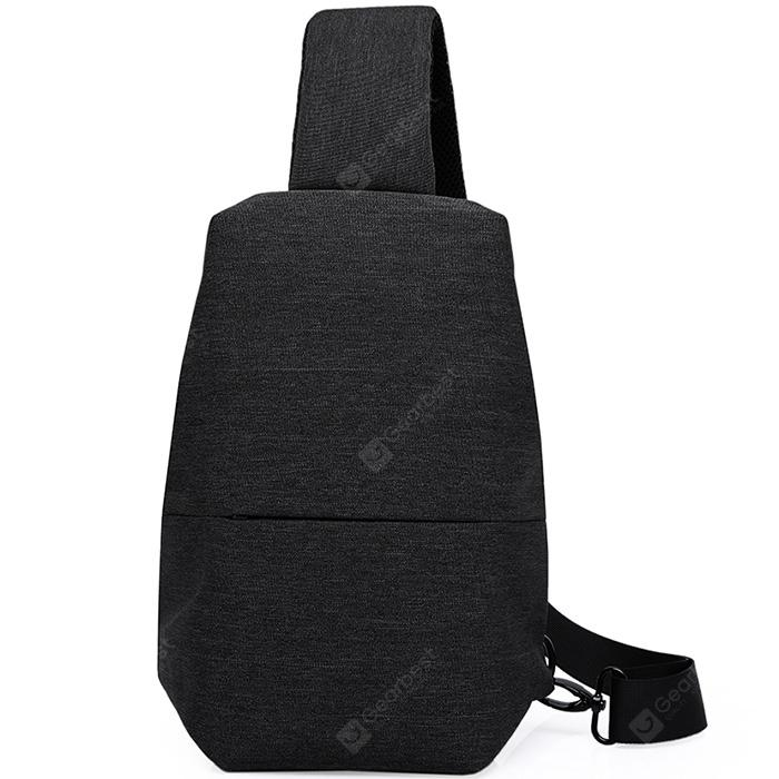 KaKa Breathable Water Resistant Oxford Chest Bag