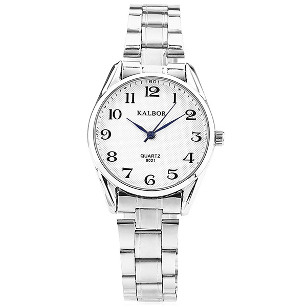 KALBOR 8021 Business Lady Numeral Scale Quartz Watch