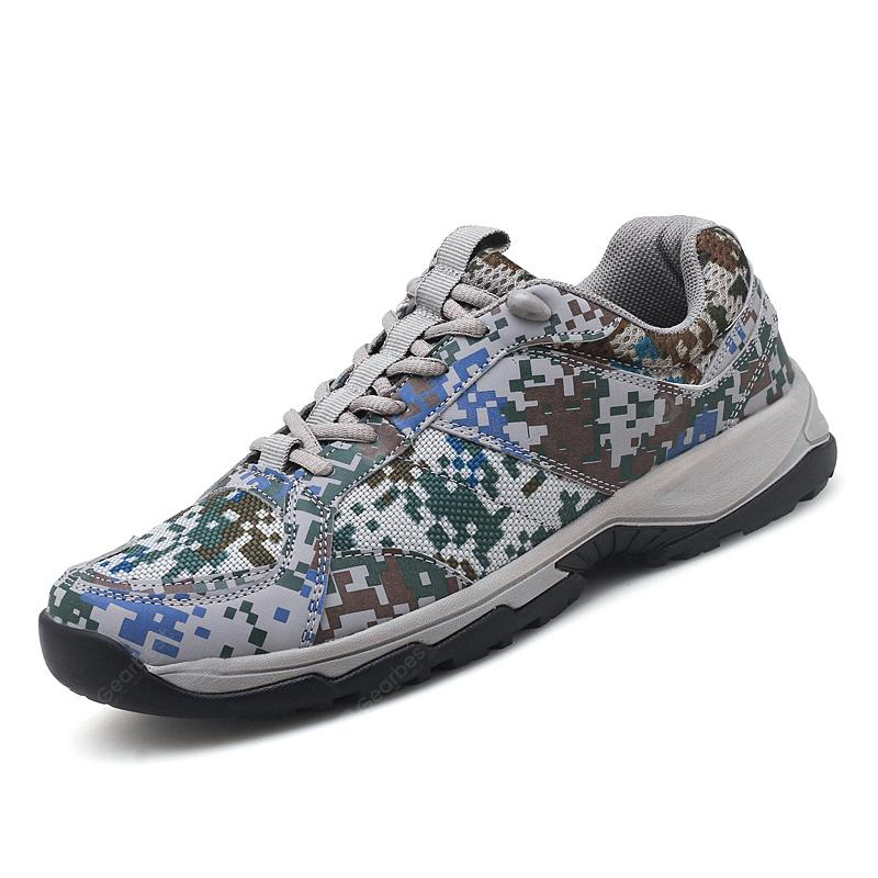 Men Fashion Camouflage Anti-slip Casual Shoes Sneakers