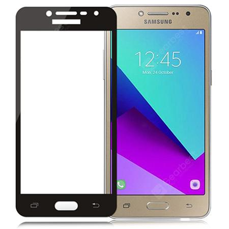 Naxtop Full Tempered Glass Screen Protector for Samsung Galaxy J2 Pro (  2018 ) / J2 ( 2018 ) / Grand Prime Pro