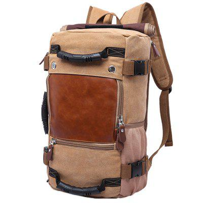 KAKA Large Capacity Chic Canvas Backpack