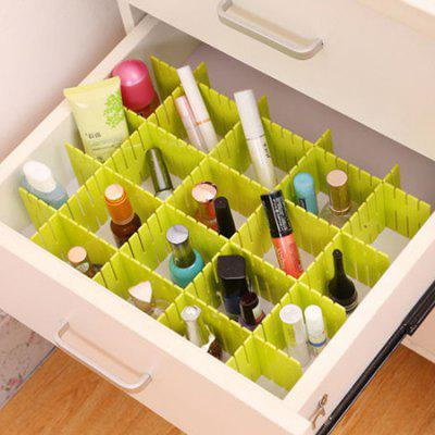 DIY Cutting Drawer Partition for Underwear Storage 4pcs