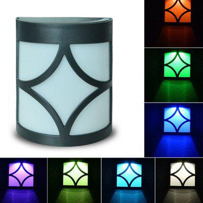 Seven Color Solar Light Wall-mounted Decoration Lamp