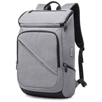 Kaka Trendy Large Capacity Laptop Backpack with USB Port