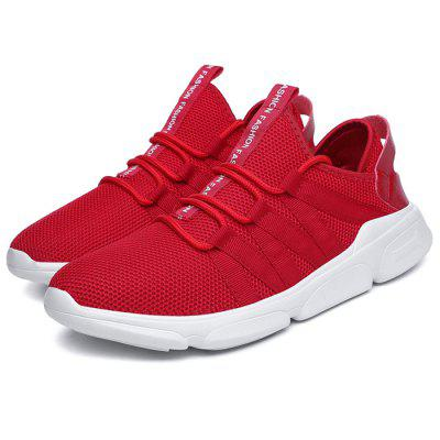 Stylish Breathable Mesh Fabric Casual Sports Shoes 2017 wholesale hot breathable mesh man casual shoes flats drive casual shoes men shoes zapatillas deportivas hombre mujer