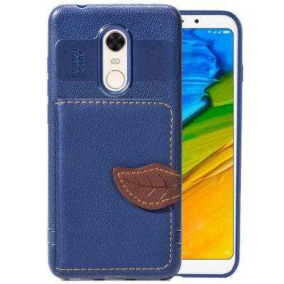 Multifunctional Phone Back Case with Stand Card Slot for Xiaomi Redmi 5 Plus 3d flamingo pattern varnishing process wallet card holder with stand pu leather material phone case for iphone 7 plus 8 plus