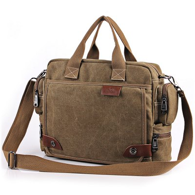 Leisure Canvas Durable Shoulder Bag