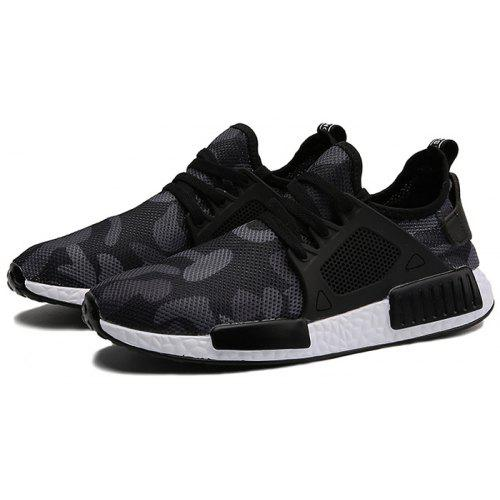 84134952127135 Mesh Fabric Breathable Leisure Sneakers for Men