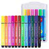 Deli 70656 Simple Washable Watercolor Pens 12PCS - COLORMIX