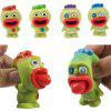 Pop Out Big Mouth Alien Stress Reliever Squishy Toys - SPRING GREEN