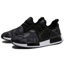 Mesh Fabric Breathable Leisure Sneakers for Men only $19.27
