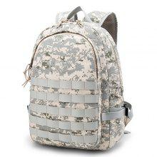 Outdoor Canvas Camouflage Style Backpack