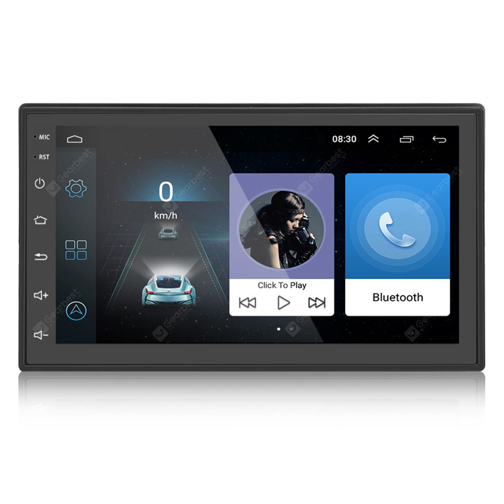 ML - CK1018 7.0 Zoll Touchscreen 2 DIN Auto Multimedia Player - SCHWARZ