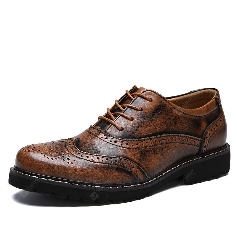 GearBest USA: Men Casual Breathable Comfort Leather Shoes - $54.39 ...