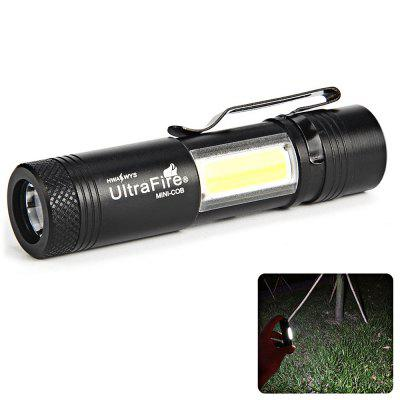 UltraFire MINI - COB 250 lúmenes XPE 4 Gear Clip Light linterna