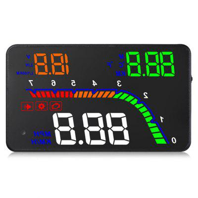 T100 OBD2 4 inch HUD Head Up Display Digital Speedometer Windshield Projector motorcycle windshield windscreen pare brise clear for triumph bonneville se t100 t120 2001 2016