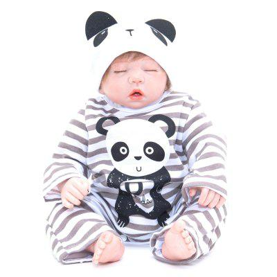 386 Simulation Cartoon Baby Silicone Reborn Doll vivid silicone reborn dolls with cloths cute 20 inch 50 cm lifelike baby reborn doll toys for children present