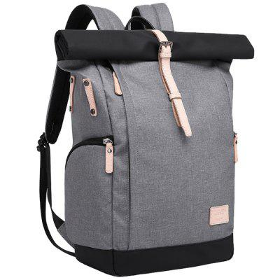 Stylish Urban Leisure Multi-functional Backpack ozuko multi functional men backpack waterproof usb charge computer backpacks 15inch laptop bag creative student school bags 2018