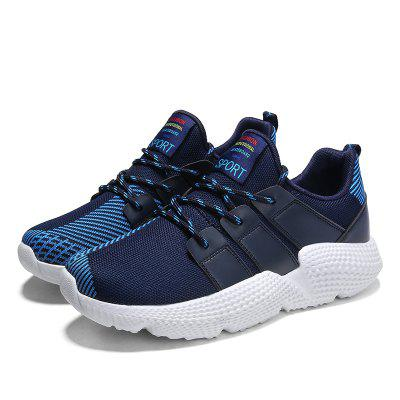 Men Outdoor Casual Breathable Rubber Sneaker Shoes