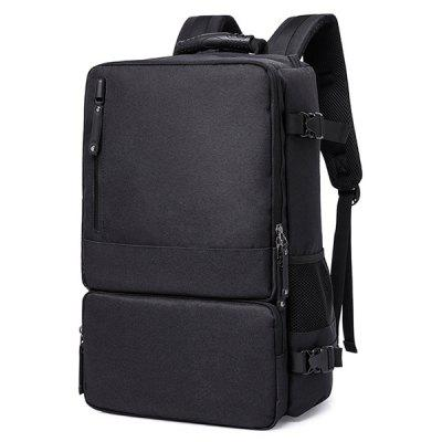Stylish Multi-functional Large Capacity Backpack ozuko multi functional men backpack waterproof usb charge computer backpacks 15inch laptop bag creative student school bags 2018