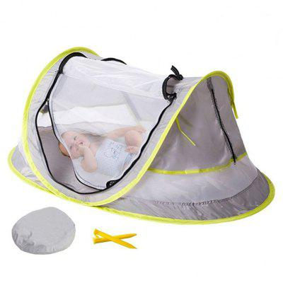 Portable Baby Crib Travel Bed Tent with UV Protection ноутбук dell vostro 5468 core i5 7200u 4gb 1tb nv 940mx 2gb 14 0 win10 grey