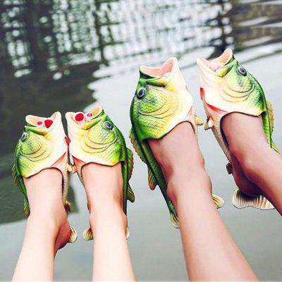 Creative Fish Style Slippers Beach Shoes