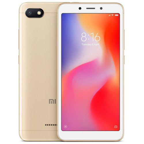 Xiaomi Redmi 6A 4G Smartphone Globale Version – Gold 274825303 2GB RAM 32GB ROM 13,0MP Rückseite Kmera