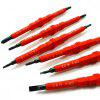 7 in 1 Portable Insulated Electrician Screwdriver Set - RED