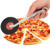 Vinyl Record Style Pizza Cutter - RED