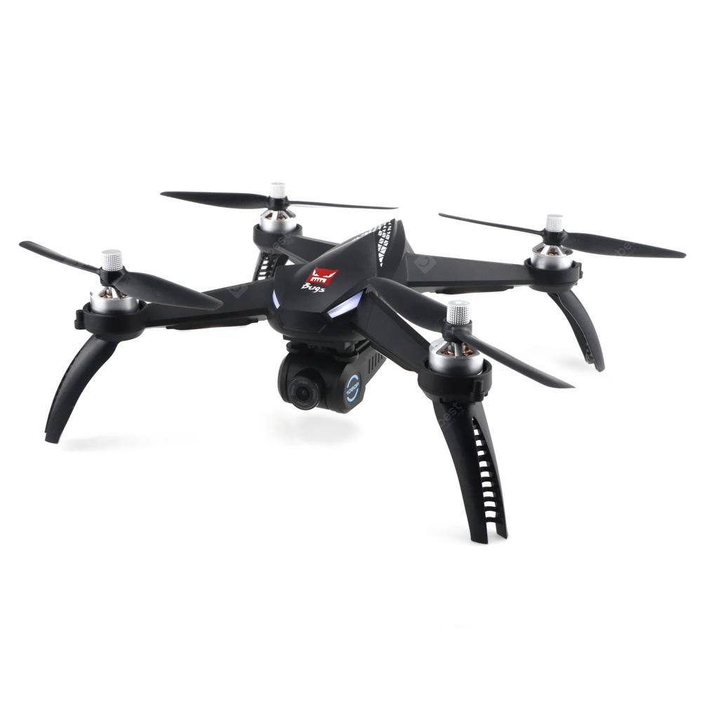 MJX Bugs 5W ( B5W ) WiFi FPV RC Drone - Black 1 Battery