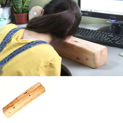 Wood Shape Headrest Pillow Back Cushion